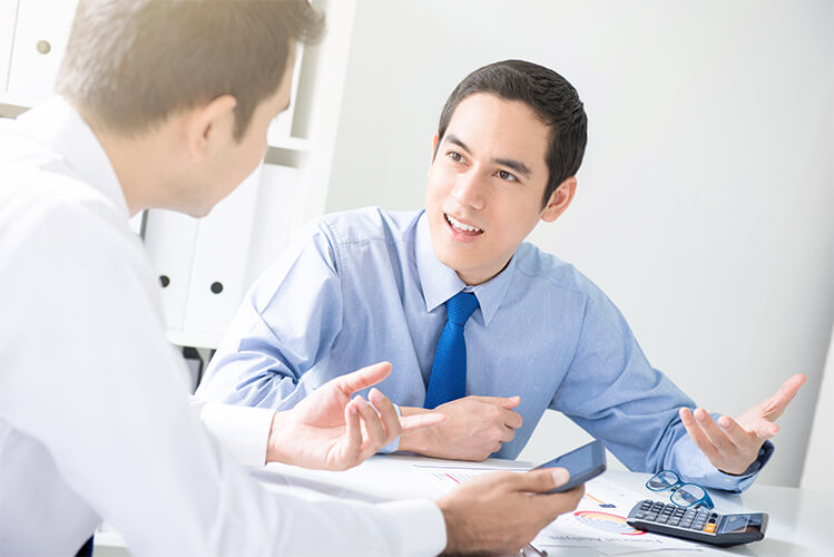 consulting a tax expert